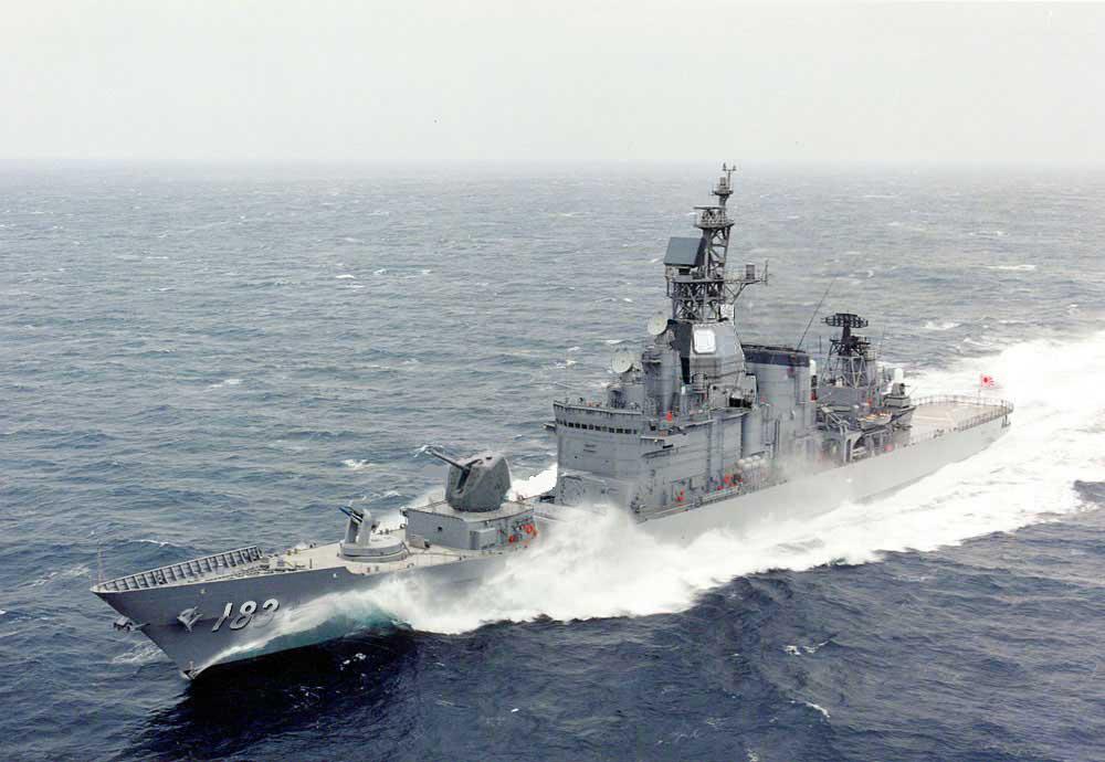 ミサイル護衛艦「いそかぜ」(DDG...